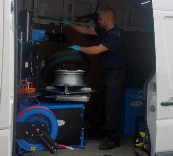 Mobile Tyre Fitting at Tam Tyres, Dunston